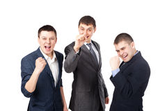 Successful young businesspeople Royalty Free Stock Photography