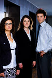 Successful young businesspeople Stock Images