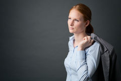 Successful Young Businesswoman Stock Photography