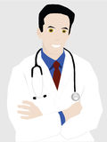 Successful young doctor Stock Photos