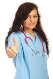 Successful young doctor female Royalty Free Stock Photo