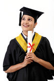 Successful young female graduate Stock Photos