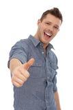 Successful young man Stock Photos