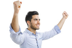Successful young man Royalty Free Stock Image
