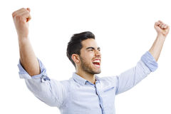 Successful young man Royalty Free Stock Images
