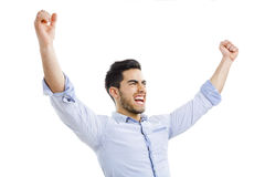 Successful young man Royalty Free Stock Photos