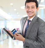 Successfull business man Stock Image