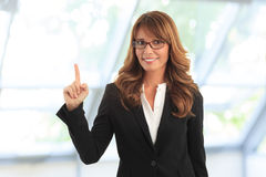 Successfull businesswoman Royalty Free Stock Photography