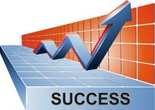 Successfull Results Stock Photo