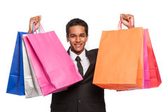 Successfull Shopper Royalty Free Stock Images