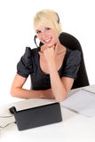 Successfull young businesswoman Stock Photos