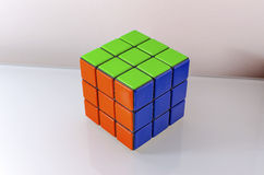 Successfully Solved Rubiks Cube Royalty Free Stock Photo