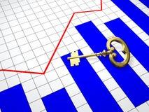 Successleutel Stock Fotografie