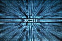 Successo! Fotografia Stock Libera da Diritti
