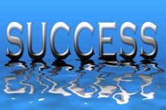 Successo Fotografie Stock