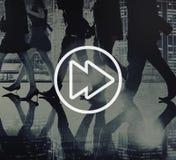 Successo adolescente Team Jumping Cheerful Concept immagine stock libera da diritti