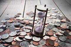 Successo dei soldi di tempo di affari Fotografia Stock Libera da Diritti