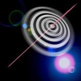 Successo del bullseye dell'occhio di tori Immagini Stock