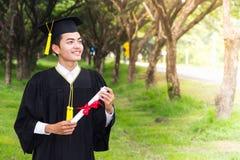 Successo del premio del laureato di graduazione Immagine Stock