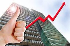 Successo di affari Immagini Stock