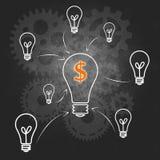 Successo di affari e della gestione dímpresa Fotografia Stock