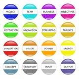 Successo di motivazione dell'innovazione Fotografie Stock