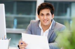 Successo e professionalità in persona Fotografie Stock