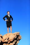 Successo e sfide - concetto di affari Fotografia Stock Libera da Diritti