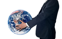 Successo globale di strategia di affari   Fotografie Stock Libere da Diritti