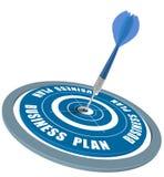 Succesvol businessplan Royalty-vrije Stock Fotografie