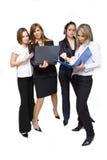 Succesvol commercieel team Stock Fotografie