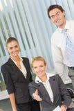 Succesvol commercieel team royalty-vrije stock foto