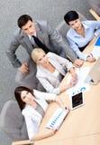 Succesvol commercieel team op de conferentie Royalty-vrije Stock Afbeelding
