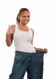 Succesvol dieet Stock Fotografie