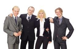 Succesvol gelukkig commercieel team Royalty-vrije Stock Afbeelding