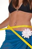 Succesvol gewichtsverlies Stock Fotografie