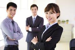 Succesvol jong commercieel team royalty-vrije stock fotografie
