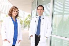 Succesvol Medisch Team royalty-vrije stock foto's