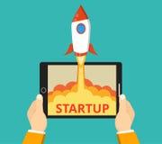 Succesvol start bedrijfsconcept royalty-vrije stock afbeelding