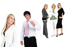 Succesvol team Stock Fotografie