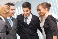 Succesvol zaken-team stock foto's