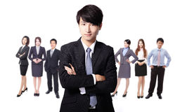 Succesvolle bedrijfsmens Royalty-vrije Stock Foto's
