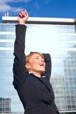 Succesvolle bedrijfsvrouw Royalty-vrije Stock Foto's