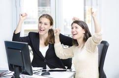 Succesvolle bedrijfsvrouwen Royalty-vrije Stock Afbeeldingen