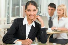 Succesvolle beroeps Stock Foto