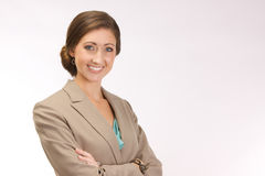 Succesvolle Collectieve Vrouw Stock Afbeelding