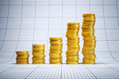 Succesvolle investering Royalty-vrije Stock Foto's