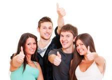 Succesvolle jonge mensen Royalty-vrije Stock Fotografie