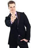 Succesvolle jonge zakenman Stock Afbeeldingen