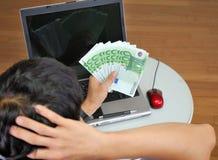 Succesvolle manager in het bureau. Stock Foto